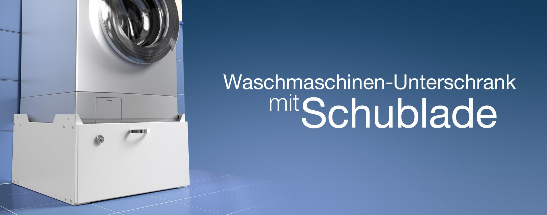 Waschmaschinen-Unterschrank mit Schublade Modell 610